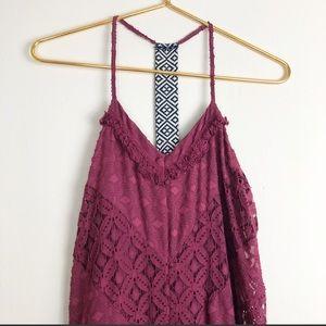 Boho Midi Lace Dress